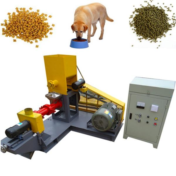 Automatic Pet Food Production Line Fish Feed Extruder Fish Meal Animal Feed