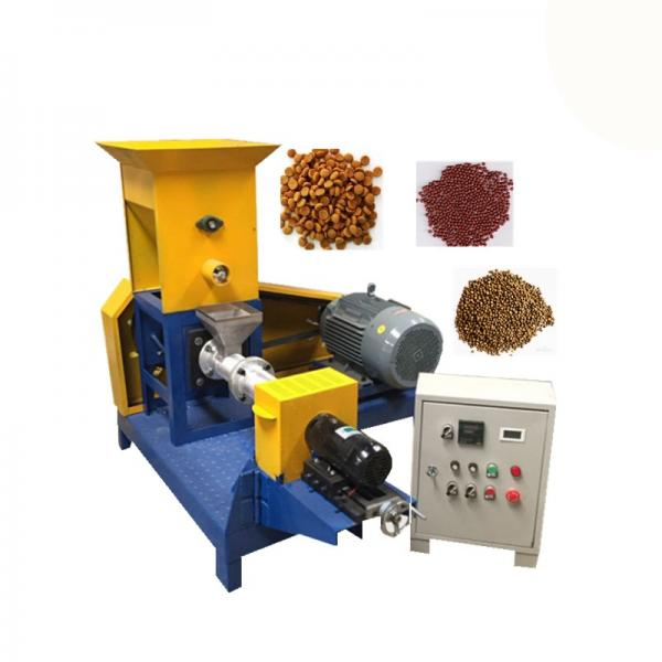 High Yield Fish Feed Pellet Machine Stainless Steel Body Pet Food Extruder