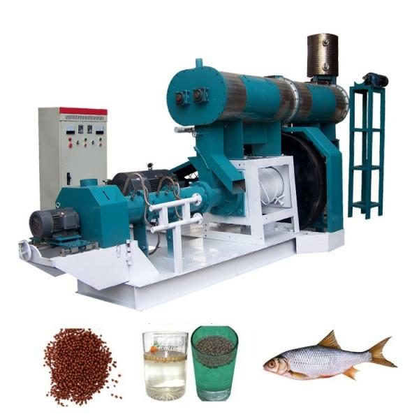 China Manufacturer High Quality Floating Fish Feed Pellet Making Machine/Pet Food Extruder