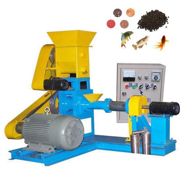 Auto Plant Small Capacity Floating Fish Feed Animal Feed Processing Equipment